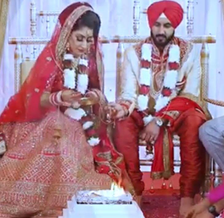 Vinny wedding ceremony