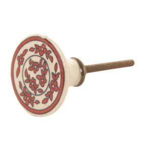 garland red door knob