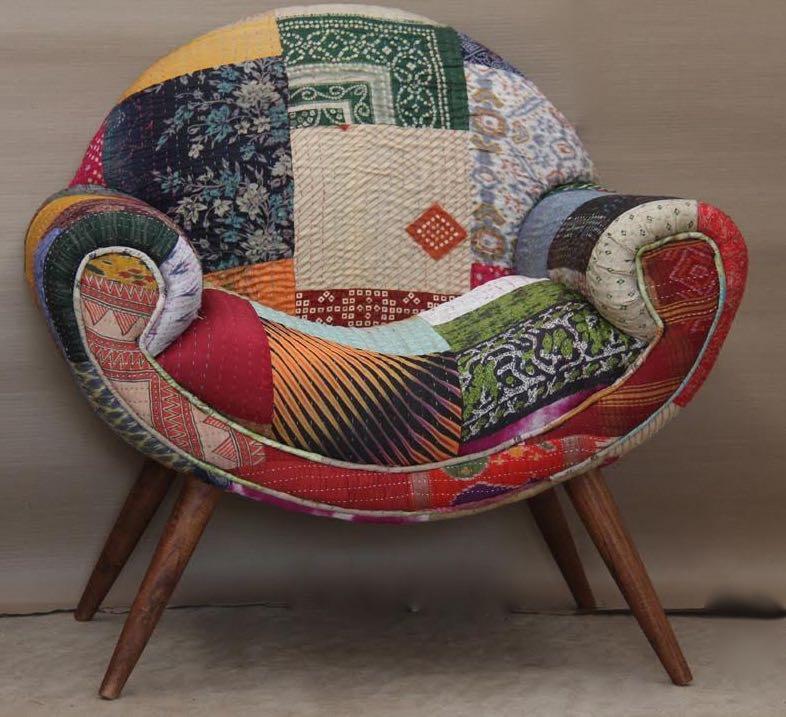 Merveilleux Kantha Chair Style 2