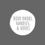 Door Knobs, Handles & Hooks