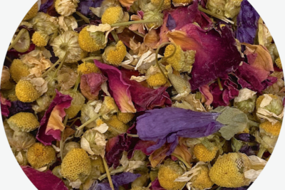 Introducing English Garden: Chamomile and Rose Blend!